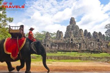 Tour du lịch Campuchia: khám phá Angkor huyền bí Máy bay 2 ngày - 1 đêm