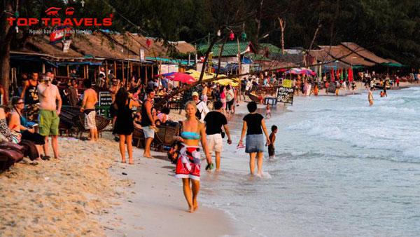 Tour du lịch Campuchia: biển Shihanouk Ville - Cao nguyên Bokor - thủ đô Phnom Penh
