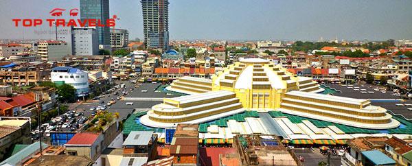 Trung Tâm Mua Sắm Central Market ở Campuchia