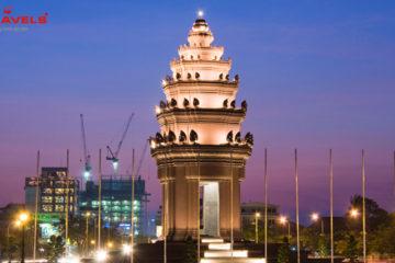 Tượng đài Độc lập Phnôm Pênh Tại Campuchia
