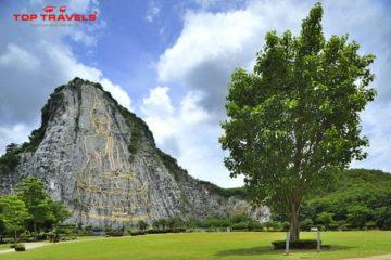 Tượng Phật Thích Ca dát vàng Cao 118 mét Ở Thái Lan