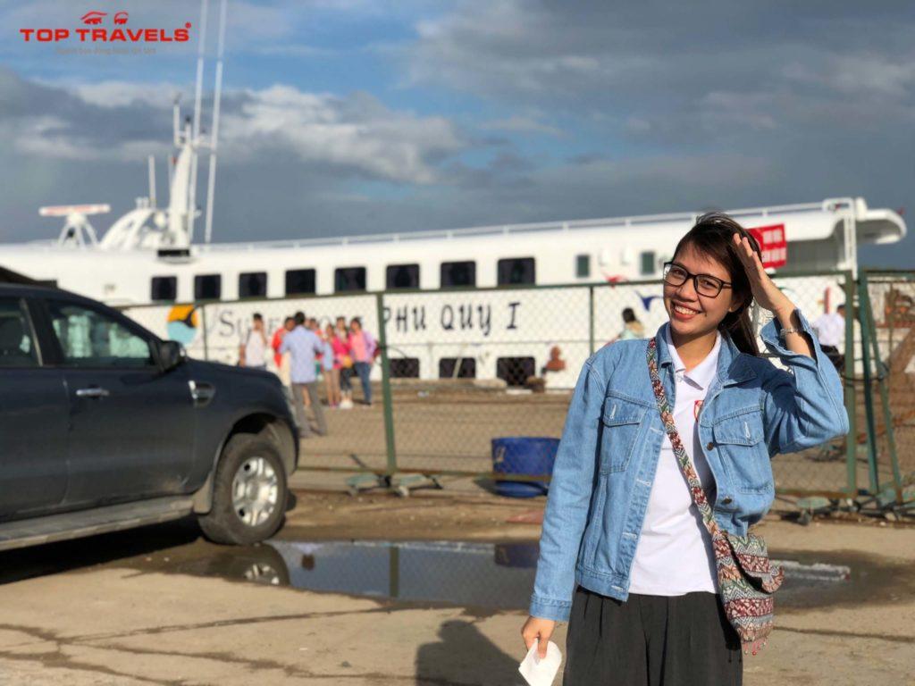 Vé tàu đi đảo Phú Quý