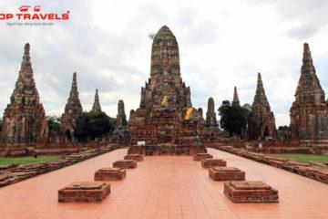 Wat Chaiwatthanaram ở Thái Lan