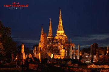 Wat Phra Sri Sanphetở Thái Lan