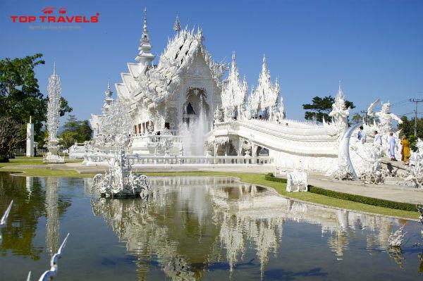 Wat Rong Khun Tại Thái Lan