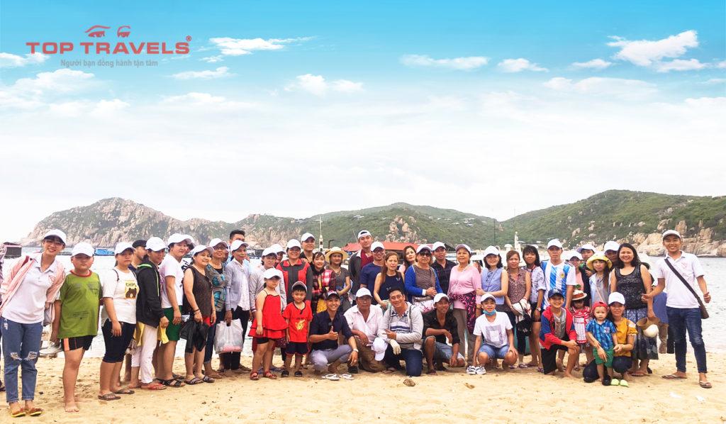 Tour Ninh Chữ 2 ngày 2 đêm Top Travels