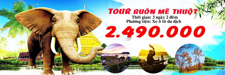 Tour Buôn Mê Thuột 3 ngày 2 đêm Top Travels