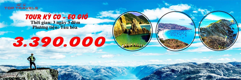 Tour Kỳ Co Eo Gió Top 3 ngày 3 đêm Top Travels